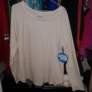 Columbia long sleeve shirts size xl